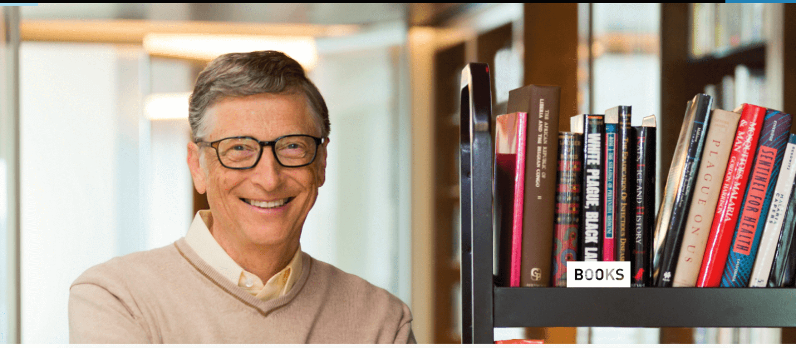 View Bill Gates' Mobile Library: The Books & Courses That ...